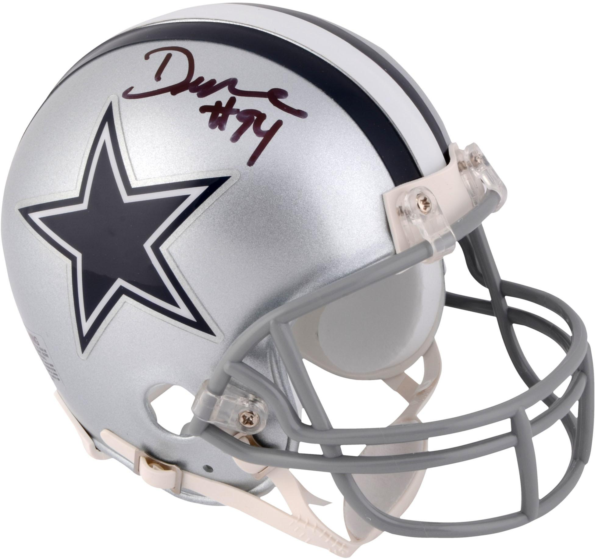 DeMarcus Ware Dallas Cowboys Autographed Riddell Mini Helmet - Fanatics Authentic Certified