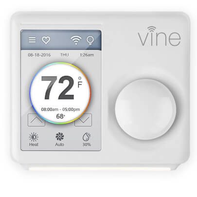 Vine Wi-Fi Programmable Smart Thermostat - TJ 610