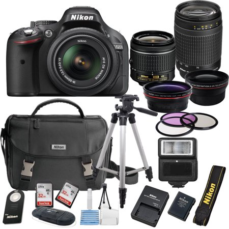 Nikon D5200 24 1 Mp Dslr Camera 18 55mm Vr Lens Kit 70