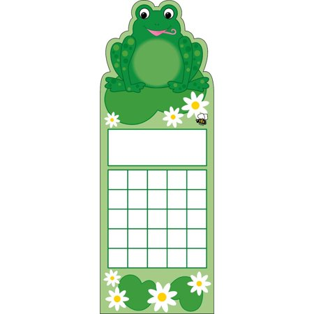 Creative Shapes Frog Incentive Bookmark