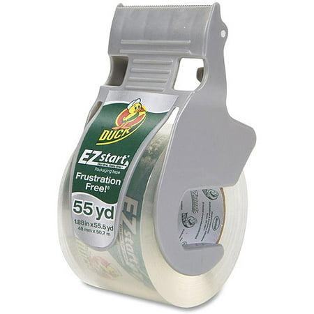 Duck Brand EZ Start Packaging Tape with Dispenser