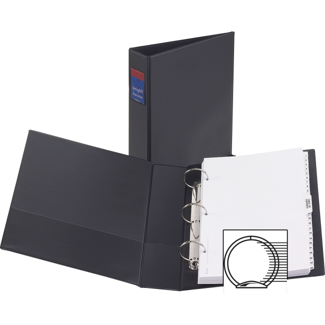 "Avery Durable 3-ring Legal-size Binders - 2"" Binder Capacity - Legal - 8 1/2"" x 14"" Sheet Size - 275 Sheet Capacity - 3"