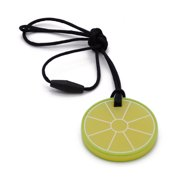 Akoyovwerve Baby Fruit Silicone Teether Toy Lemon Teether With Rope
