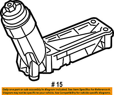 Chrysler Oem Engine Oil Filter Housing 5184294ae