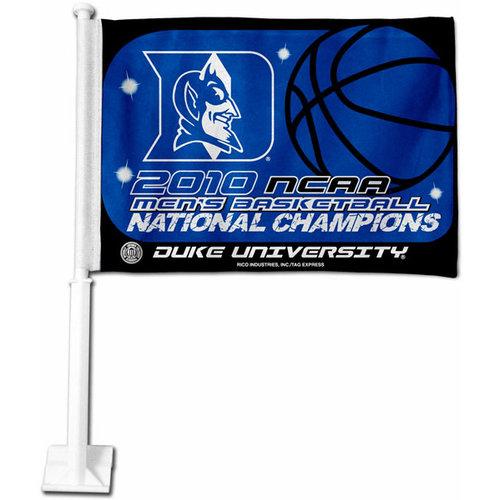 NCAA - Duke Blue Devils 2010 NCAA Basketball National Champions Car Flag