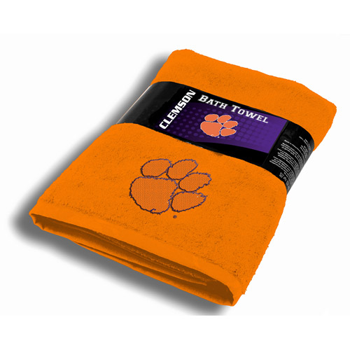 NCAA Clemson Tigers Bath Towel
