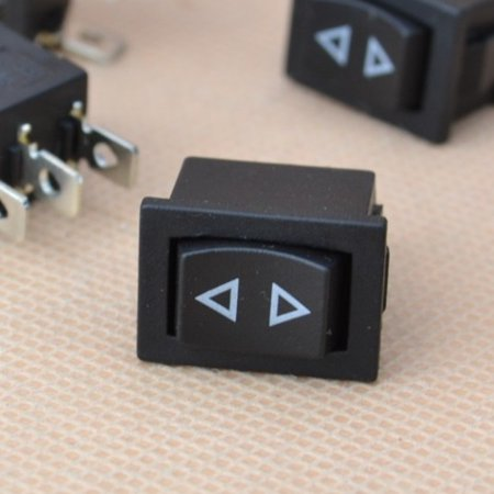 Small Momentary Rocker Switch 3-Pin Spring Window Hoist Temporary Up/Down Type Dpdt Momentary Switch Type