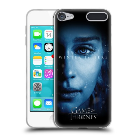 OFFICIAL HBO GAME OF THRONES WINTER IS HERE SOFT GEL CASE FOR APPLE IPOD TOUCH MP3 - Cersei Lannister Dresses