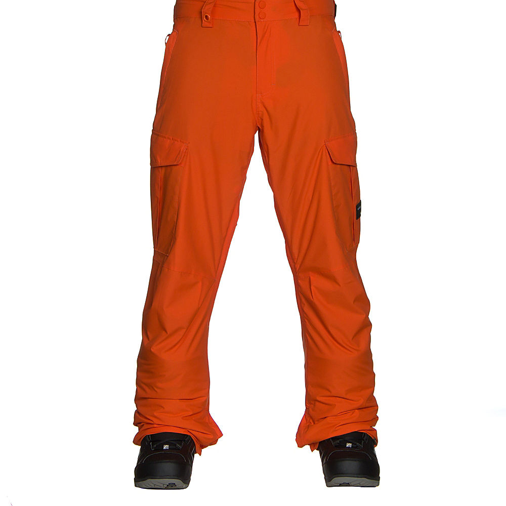 Quiksilver Snow Men's Porter Insulated 17 Pant, Flame, X-Large