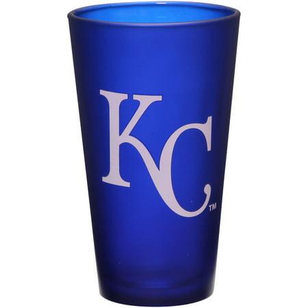 Kansas City Royals 16 oz. Team Color Frosted Pint Glass - No Size - Party City Royal Oak