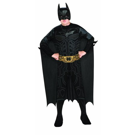 Batman Dark Knight Rises Child's Deluxe Light-Up Batman Costume with Mask and Cape - Large, Batman Dark Knight Rises Child's Deluxe Light-Up Batman Costume.., By (Rubie's Batman Costume)