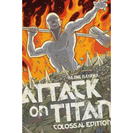 Attack on Titan Colossal Edition: Attack on Titan: Colossal Edition 5 (Series #5) (Paperback)