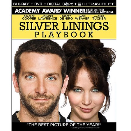 Silver Linings Playbook  Blu Ray   Dvd   With Instawatch