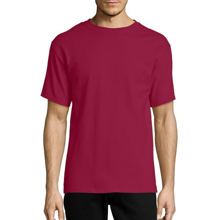 Hanes Big Men's Tagless Short Sleeve Tee (Hanes Black Skirt)