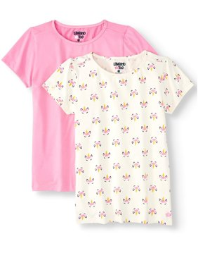 Limited Too Knit T-shirts, 2-pack (Toddler Girls)