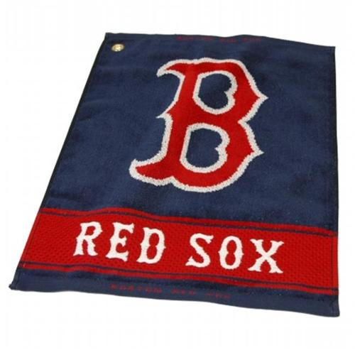 Team Golf 95380 MLB Boston Red Sox - Woven Towel