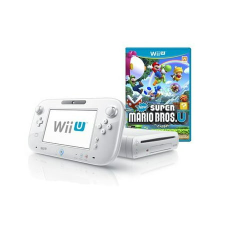 Refurbished Wii U 8GB Basic Set Console New Super Mario Bros U White Nintendo Wii U - Super Products New Berlin Wi