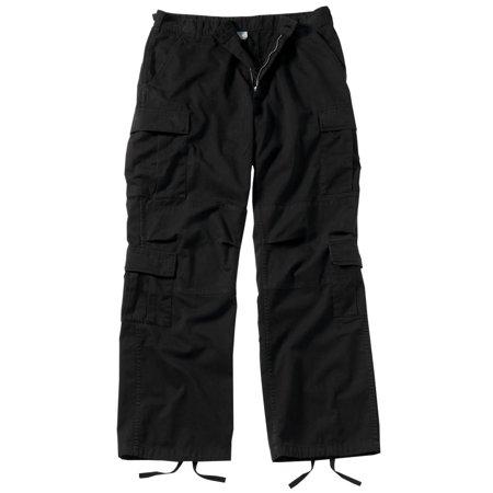 Vintage Paratrooper Cargo Pants, Black BDUs / Fatigues Military Fatigues Bdus Black Pants