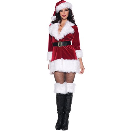 Secret Santa Adult Costume - Santa Costume Rentals