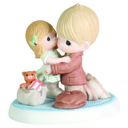Precious Moments Dad And Daughter Hugging Figurine