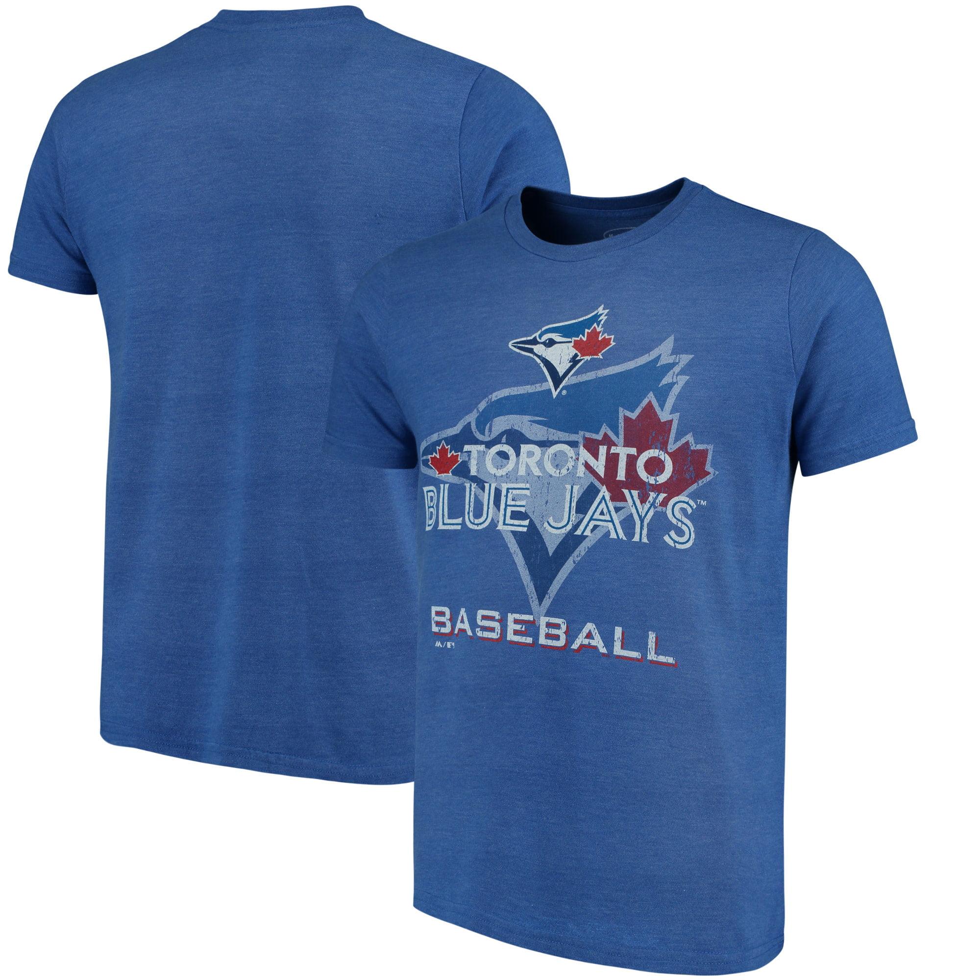 Toronto Blue Jays Majestic Threads Visionary Tri-Blend T-Shirt - Royal
