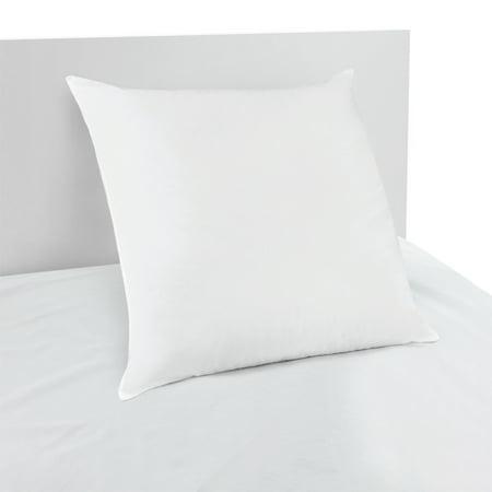Beautyrest Cotton-Rich LITE-LOFT Polyester Fill Euro Pillow,26