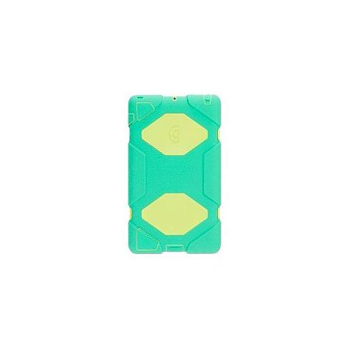 Griffin Survivor - Protective case for web tablet - silicone, polycarbonate - yellow, green - for Apple iPad (3rd genera