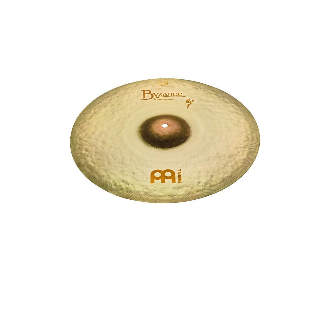 Meinl 18 Inch Byzance Thin Sand Crash Cymbal by Meinl