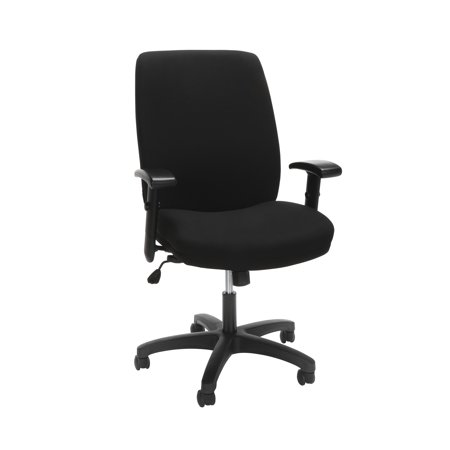 HON Network High-Back Task Chair featuring Synchro-Tilt Control With Seat Slider, in Black