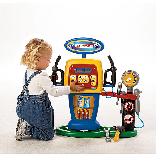 Pavlov'z Toyz Electronic Self-Service Gas Station Play Set