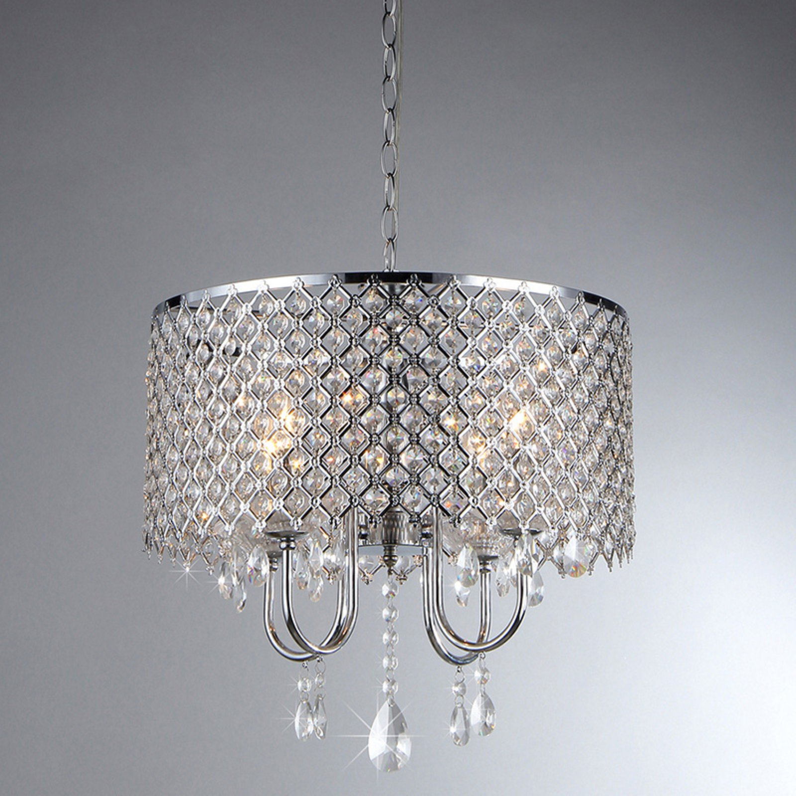 Warehouse of Tiffany Deluxe Crystal RL5633 Chandelier