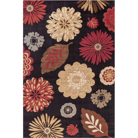 Concord Global Trading Jewel Collection Kaleidoscope Area Rug (Jewel Panel Rug)