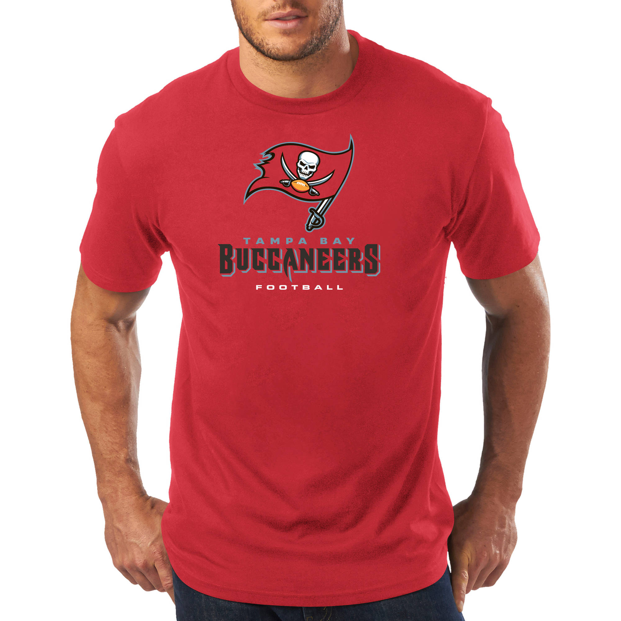 Men's NFL Tampa Bay Buccaneers Short Sleeve Tee