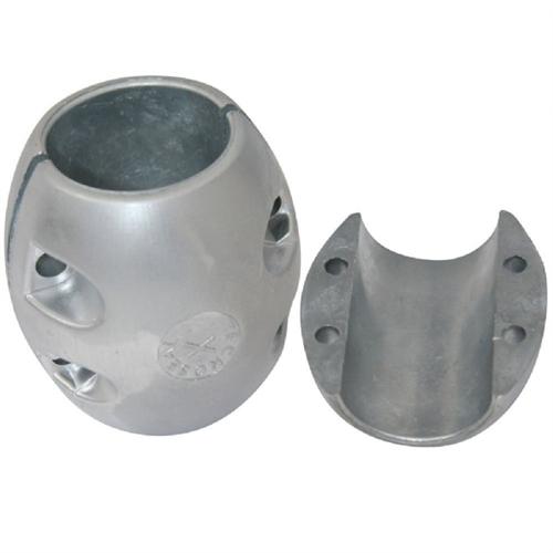 """Tecnoseal Shaft Anode - Zinc - 6"""" Shaft Diameter X21"""