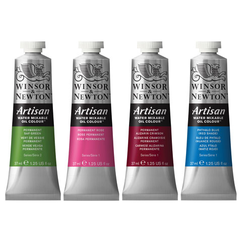 Winsor & Newton Oil Paint: Water Mixable, French Ultramarine, 37 mL