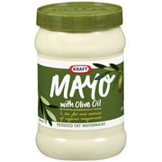 Kraft Mayonnaise With Olive Oil, 30 oz