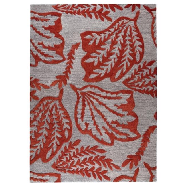 M A Trading MTBLEARED050080 Leaf 152 x 245 Red