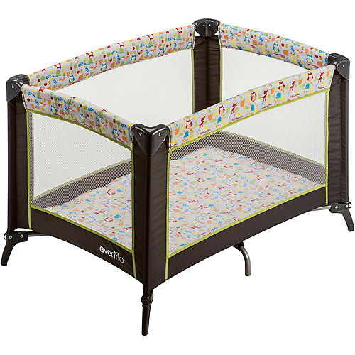 Evenflo Portable Babysuite Playard, Woodland Buddies