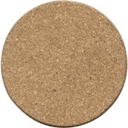 Thirstystone Drink Coasters, Natural Cork, Set of 6