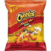 Cheetos Puffs Reduced Fat Flamin' Cheese Flavored Snacks, 72 Count