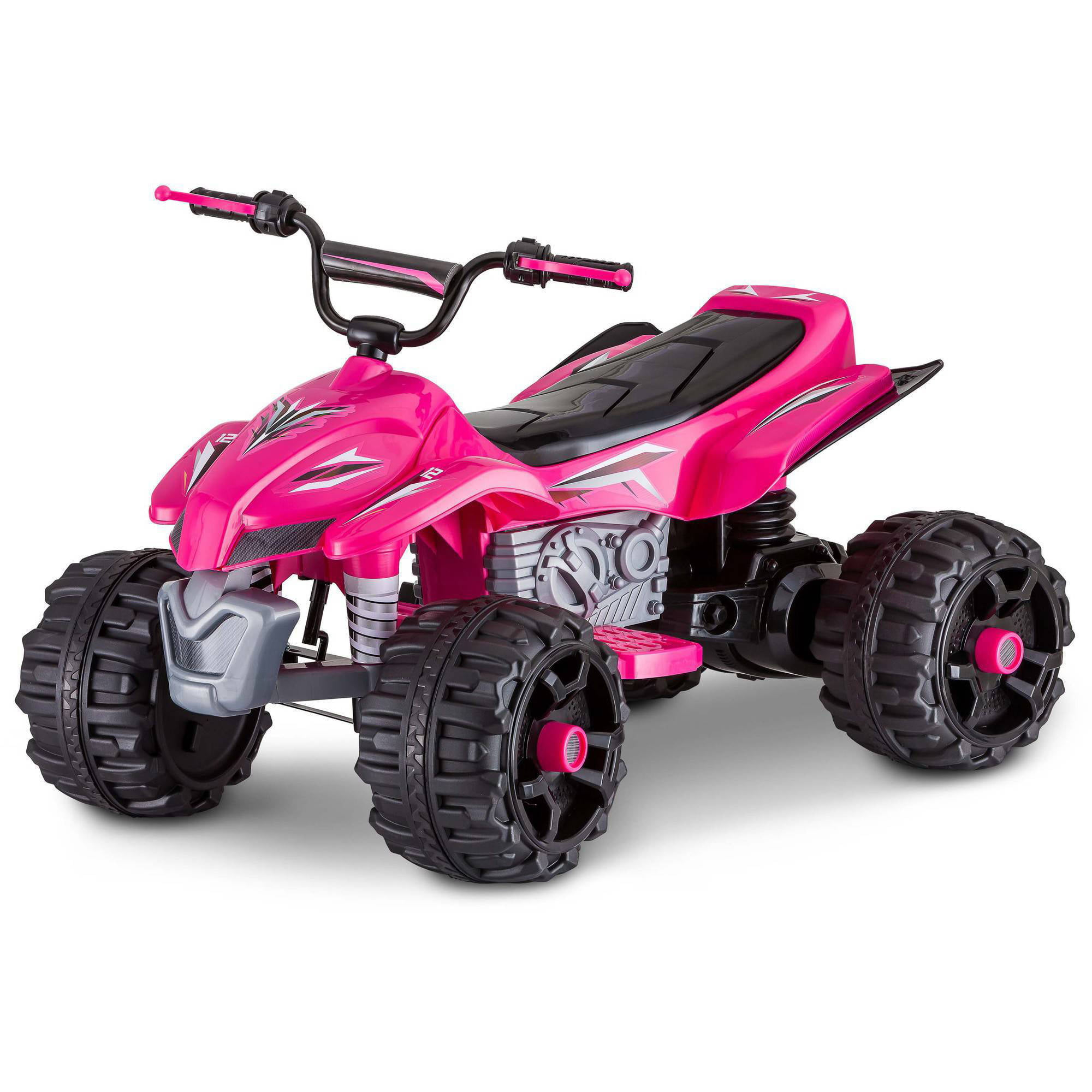 power wheels barbie kfx 12 volt battery powered ride on walmartcom