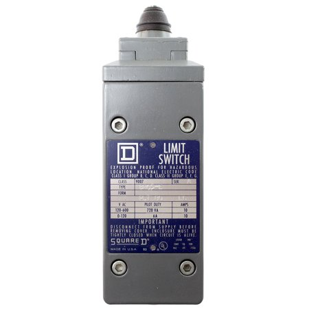 Square D BR65-E Explosion Proof Limit Switch, 120-600VAC, 10-Amp