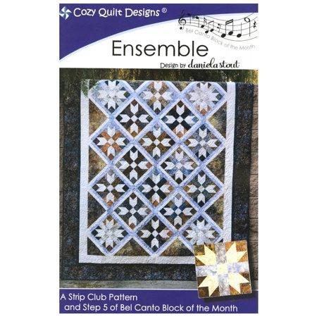 Ensemble Quilt Pattern By Daniela Stout Cozy Quilt Designs