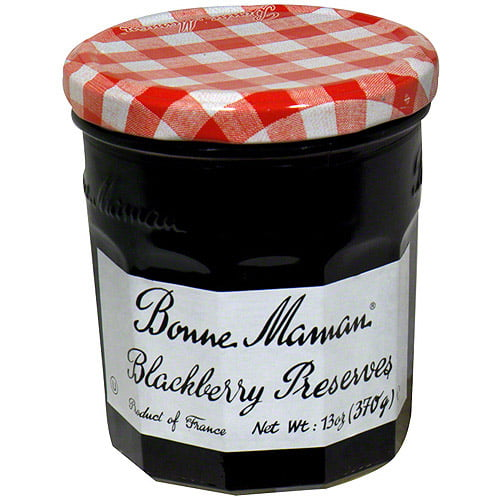 Bonne Maman Blackberry Preserves, 13 oz (Pack of 6) by Generic