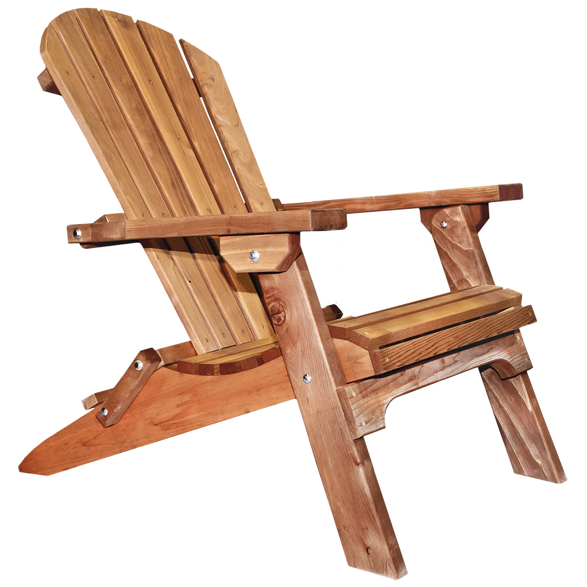 Western Red Cedar Adirondack Chair, Exterior Stain Finish