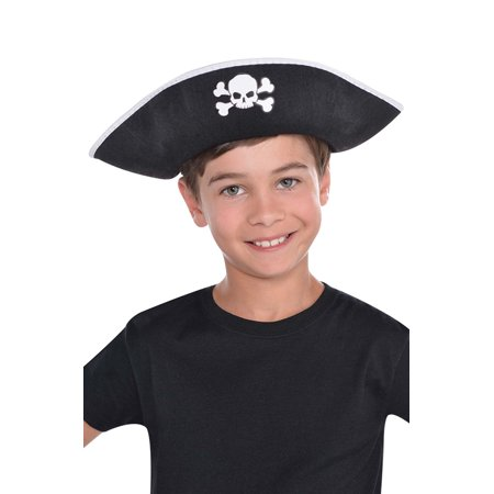 Skull and Crossbones Pirate Child Hat