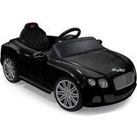 Rastar Bentley GTC Remote Controlled 12V Kids Battery Powered Ride On Car Black