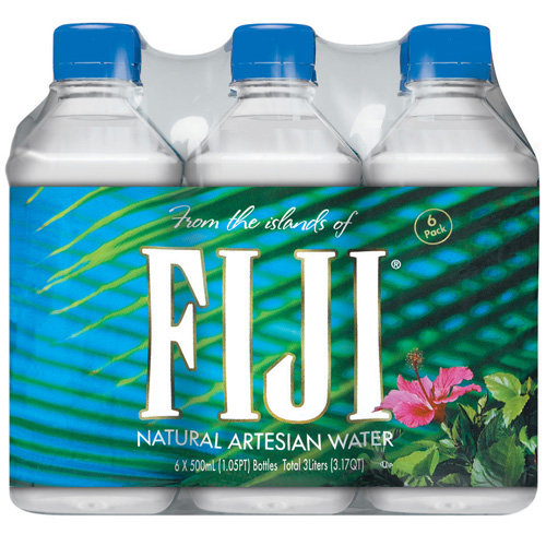 Fiji Natural Artesian Water, 6pk