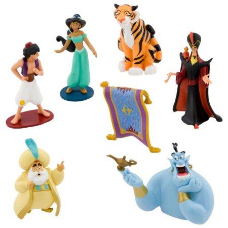 Disney Parks Exclusive Aladdin Princess Jasmine Figurine 7 Pc. Playset for $<!---->