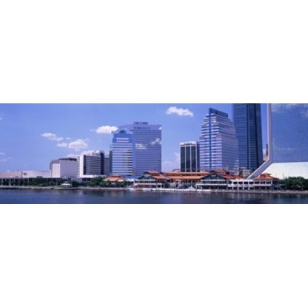 Skyline Jacksonville FL USA Poster Print](Party Shop Jacksonville Fl)